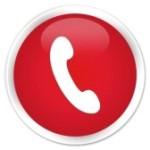 telefoon rood